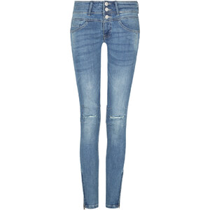Tally Weijl Blaue Skinny Jeans