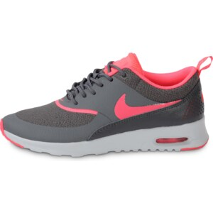 Nike Baskets/Running Air Max Thea Grise Rose Femme