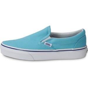 Vans Classic Slip-on Bleu Ciel Tennis Femme