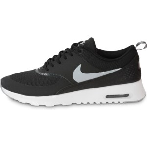 Nike Baskets/Running Air Max Thea Noire Blanche Femme