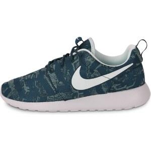 Nike Baskets/Running Roshe One Print Motifs Bleus Femme