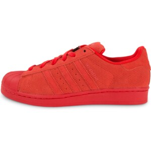 adidas Baskets Superstar Multicolor W Rouge Femme