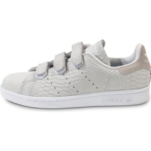adidas Tennis Stan Smith Cf Velcro Grise Femme