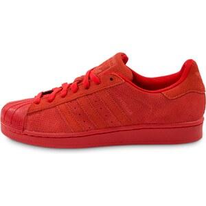 adidas Tennis Superstar Suede Rouge Homme