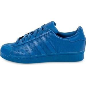 adidas Baskets/Tennis Superstar Adicolor W Bleu Femme