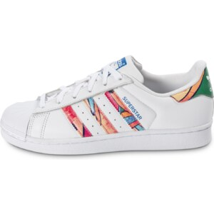 adidas Baskets/Tennis Superstar Tropical Blanche Femme