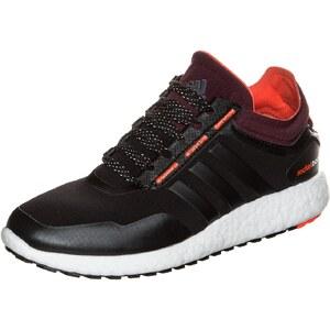 Große Größen: adidas Performance ClimaHeat Rocket Boost Laufschuh Damen, schwarz / dunkelrot, Gr.6.5 UK - 40 EU-7.5 UK - 41.1/3 EU