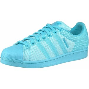 Große Größen: adidas Originals Superstar W Sneaker, Hellblau, Gr.36-40