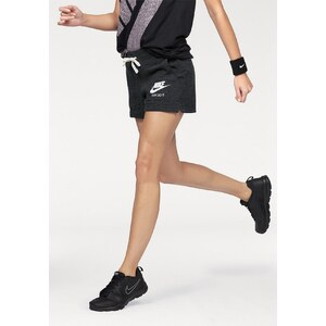 Große Größen: Nike Sportswear Sweatshorts »GYM VINTAGE SHORT«, schwarz-meliert, Gr.L (42/44)-XL (46/48)
