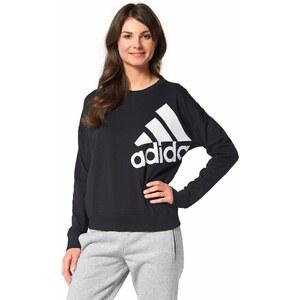 Große Größen: adidas Performance Sweatshirt, Schwarz-Weiß, Gr.XL (48)-XL (48)