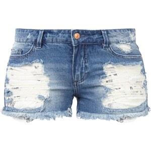 ONLY 5-Pocket-Jeansshorts im Destroyed Look
