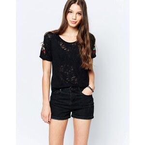 Bellfield - T-shirt oversize - Noir