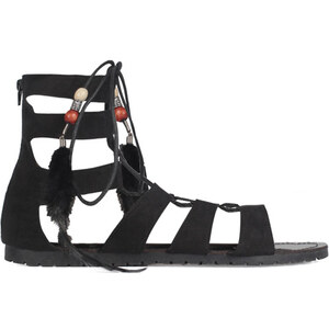 Tally Weijl Sandales Style Gladiateurs Noires