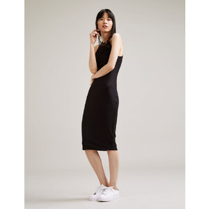 robe tube côtelée noire Jennyfer