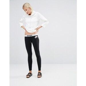 Nike - Pantalon de survêtement skinny avec logo à la taille - Noir