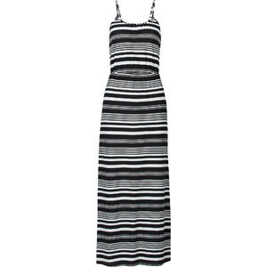 BODYFLIRT Maxi Kleid in weiß von bonprix