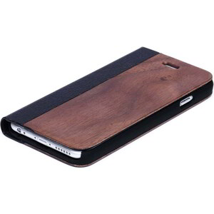 Time For Wood Etui à Rabat pour Iphone 6 et 6S - Obero