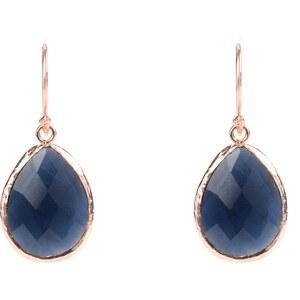 Latelita London Boucles d'Oreilles Bleues - Petite Sapphire Hydro