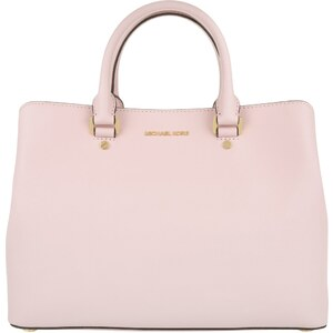 Michael Kors Sacs portés main, Savannah LG Leather Satchel Blossom en rose pâle