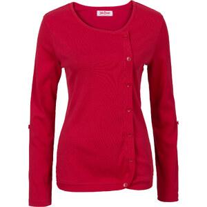 John Baner JEANSWEAR T-shirt manches longues rouge femme - bonprix