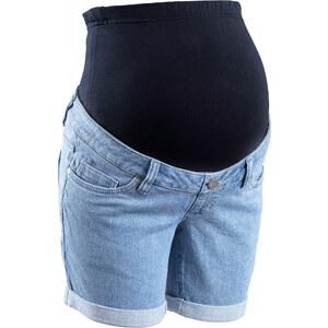bpc bonprix collection Short en jean de grossesse bleu femme - bonprix