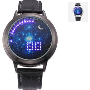 Lesara Montre LED motif galaxie