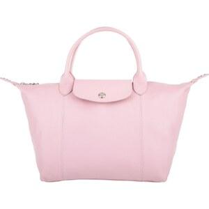 Longchamp Sacs portés main, Le Pliage Cuir Top Handle Small Girl en rose pâle
