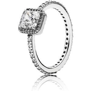 Pandora Ring Zeitlose Eleganz Silber 190947CZ-48