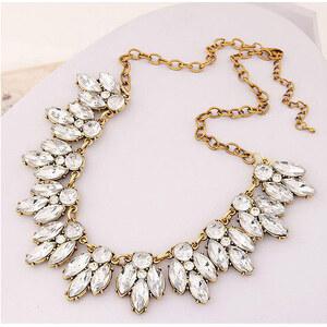 Lesara Statement-Halskette mit Kristallen