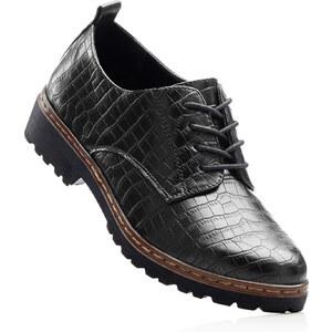 RAINBOW Chaussures à lacets noir chaussures & accessoires - bonprix