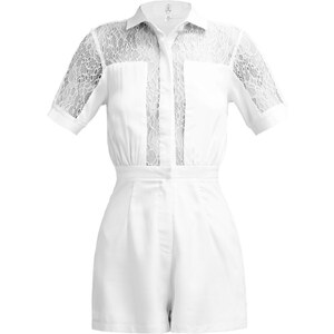 Missguided Jumpsuit white