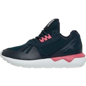 adidas Originals Damen Tubular Runner Petrol Petrol Sneakers Blau