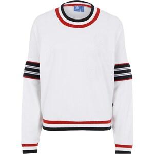 ADIDAS ORIGINALS Sweatshirt mit Label Applikation