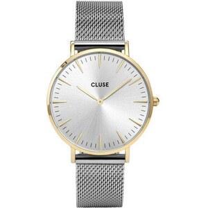 Montre Cluse La Bohème - Mesh Gold/Silver