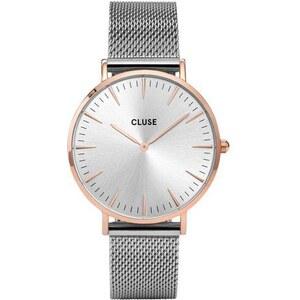 Montre Cluse La Bohème Mesh Rose Gold/Silver