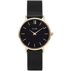 Montre Cluse Minuit - Mesh Gold Black/Black