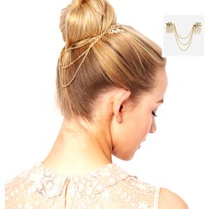 Lesara Haarkamm mit Zierketten