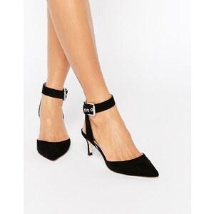 ASOS - SEEKER - Chaussures pointues à talons - Noir