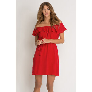 Orsay Kleid mit Carmen-Ausschnitt