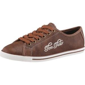 Große Größen: Tom Tailor Sneaker, braun, Gr.36 (3,5)-42 (8)