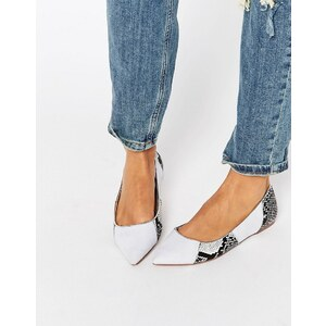 ASOS - LIVELY - Ballerines pointues motif patchwork - Multi