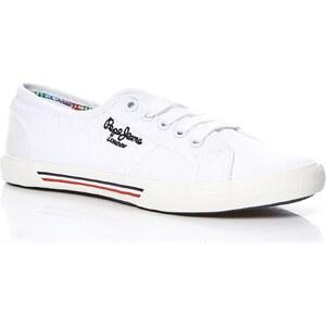Pepe Jeans Footwear ABERLADY - Sneakers - weiß