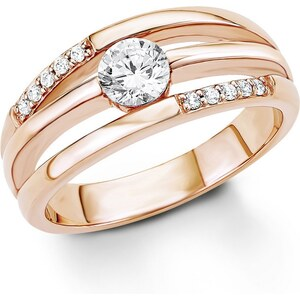 S.Oliver RED LABEL Silberring Ring mit Zirkonia