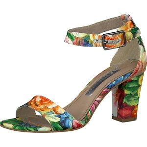 TAMARIS Sandalette mit Blütenprint