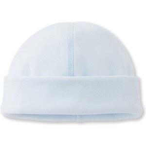 Petit Bateau Bonnet de naissance - bleu clair