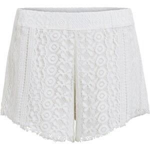 VILA Shorts mit Spitze