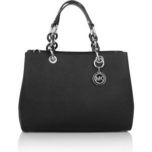 Michael Kors Sacs portés main, Cynthia Medium Satchel Black en noir