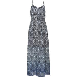 RAINBOW Kleid, gemustert ohne Ärmel in blau von bonprix