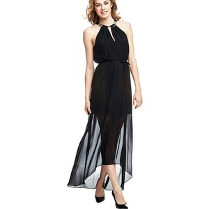 Guess Langes asymmetrisches Kleid
