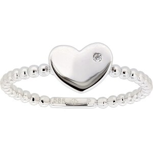 Vivance Jewels Ring »Herz« mit Brillant